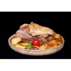 Confit de canard gras (1 aile + 1 magret) 700g